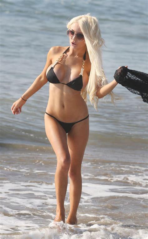Cleo Pires Bikini - courtney stodden shows off her big bump in sexy bikini 30