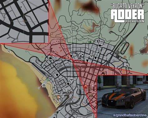 Adder Location (bugatti Veyron) (video In Comments