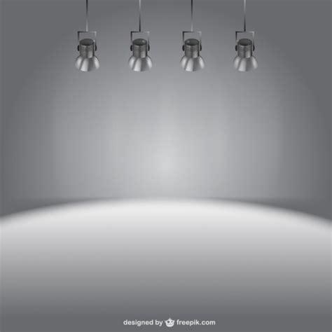 stage lights background vector