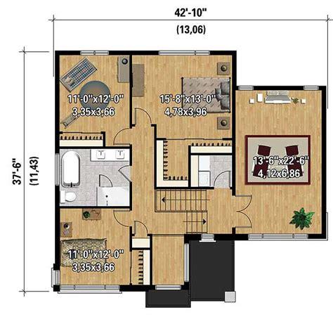 multi level home plans multi level contemporary house plan 80846pm