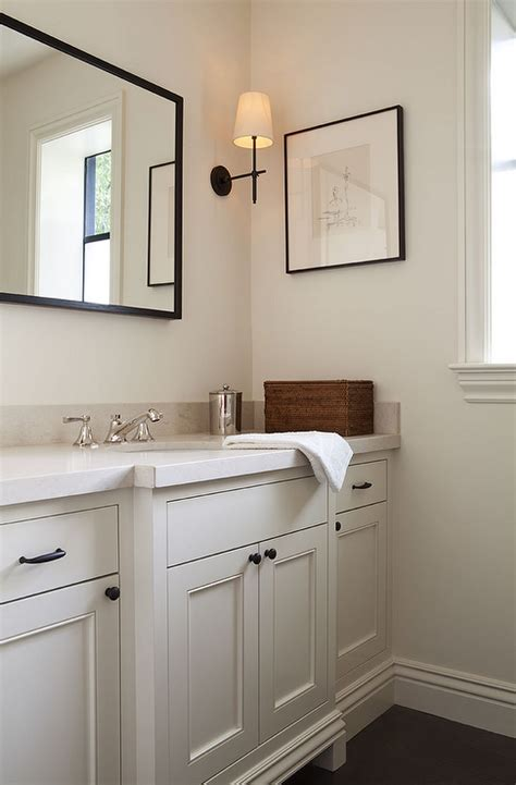 bathroom cabinet hardware ideas powder room features a vanity adorned with