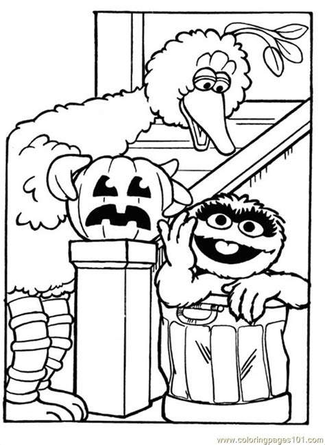 sesame coloring page  sesame street coloring pages