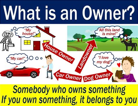 Owner - definition and meaning - Market Business News