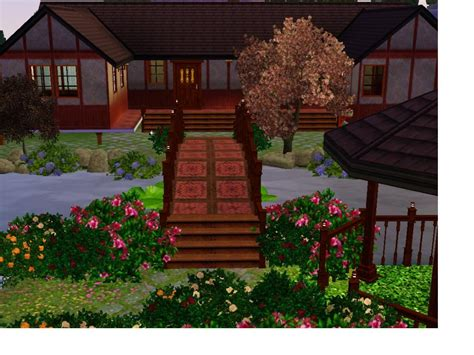 Traditional Home Turns by Mod The Sims Traditional Japanese Home