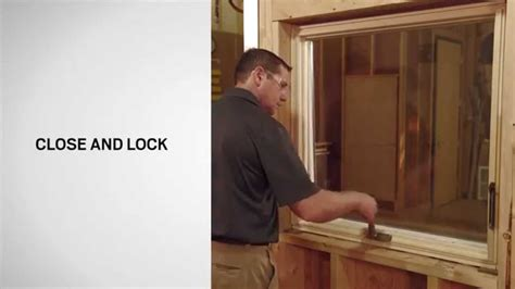 operator replacement  andersen  series awning windows youtube