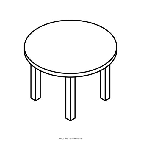table coloring page ultra coloring pages