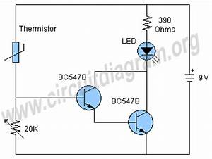 temperature sensor circuit circuit diagram With temperature sensor led meter circuit diagram