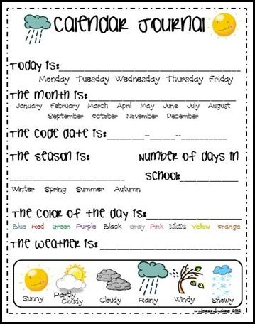 HD wallpapers free kindergarten calendar worksheets