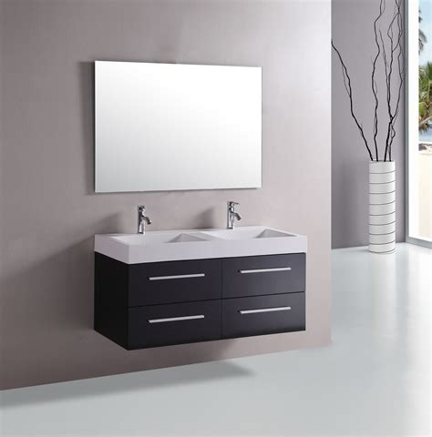how to attach sink to vanity floating bathroom vanity in modern design for your lovely