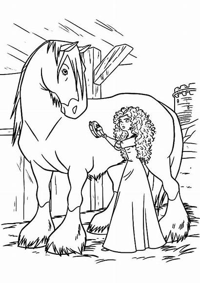 Coloring Horse Pages Miniature Printable Getcolorings