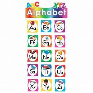 alphabet mini bulletin board tcr4865 teacher created With alphabet letter board