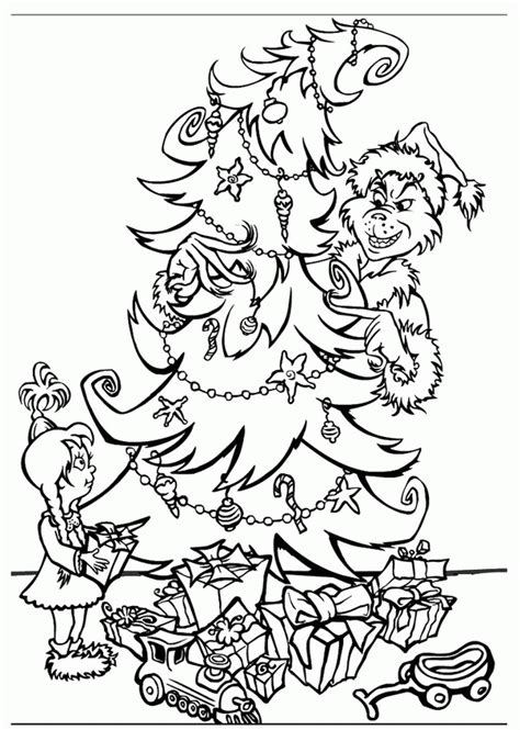 grinch coloring page how the grinch stole coloring page coloring home
