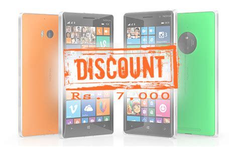 nokia lumia 830 and lumia 930 offered with rs 7000 discount