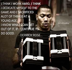 Derrick Rose Motivational Quotes. QuotesGram