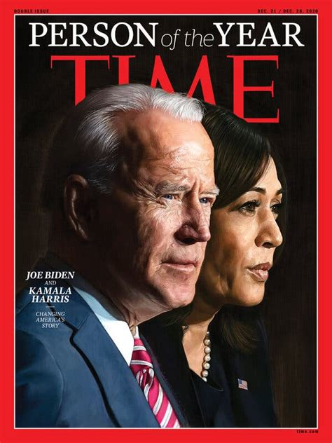 Time's Persons of the Year for 2020 Are Joe Biden and ...