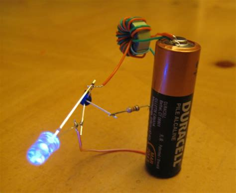 how to make a l cordless joule thief ou comment trouver de l electricité où il n y