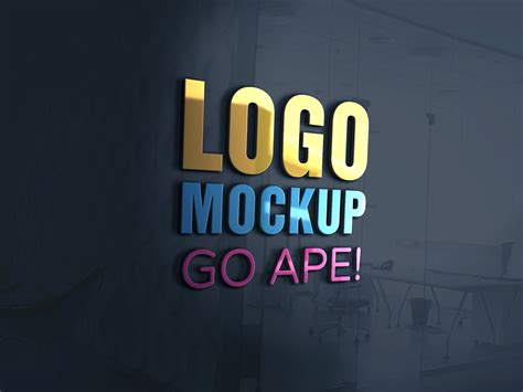 Logo Mockup Logos Mockups Logo Mockup Psd Logos
