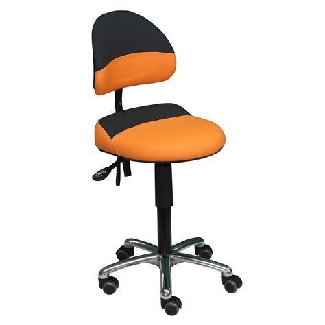 siege debout siège assis debout bicolore aure de siegepro orange noir