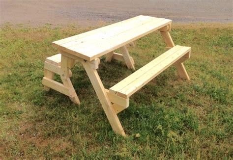 folding picnic table   lumber  table mode