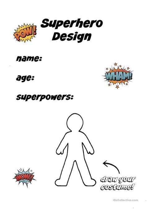 create  superhero worksheets worksheets