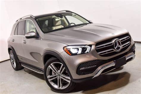 21 amg multispoke w/black accents chrome wheels. 2020 Mercedes-Benz GLE 350 4MATIC SUV   Mojave Silver Metallic 20-604
