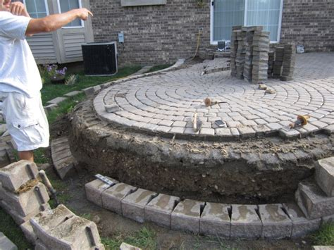 how to build a paver patio brick pavers canton plymouth northville arbor patio