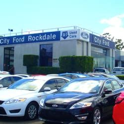 City Ford Rockdale   Car Dealers   267 275 Princes Hwy