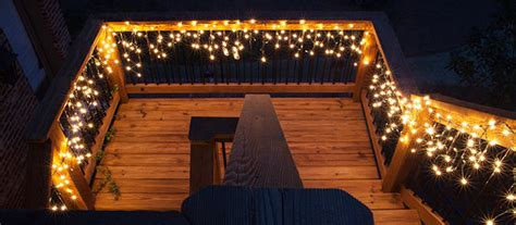 holiday lighting ideas for decks deck lighting ideas with brilliant results yard envy