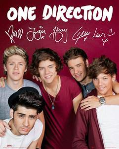 One Direction - Maroon Poster | Sold at Europosters