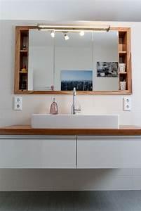 Spiegelschrank Badezimmer Holz : spiegel einbauschrank im bad goschwand der ganz normale wahnsinn beim hausbau house ~ Markanthonyermac.com Haus und Dekorationen