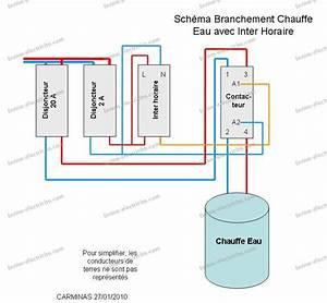 Cablage Chauffe Eau : branchement contacteur jour nuit siemens ~ Melissatoandfro.com Idées de Décoration