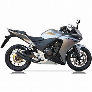 Honda Cbr 500 : exhaust ixil dual hyperlow black honda cbr 500 r f cb ~ Melissatoandfro.com Idées de Décoration