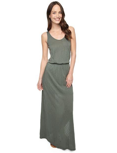 lyst splendid  neck maxi dress  green