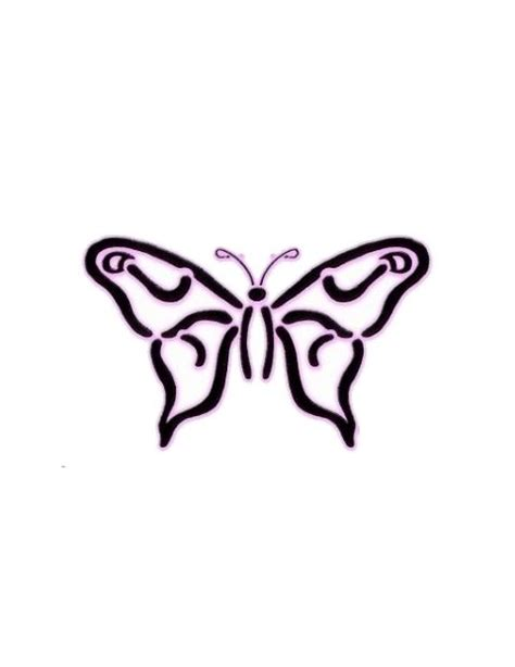 simple butterfly tattoo designs images