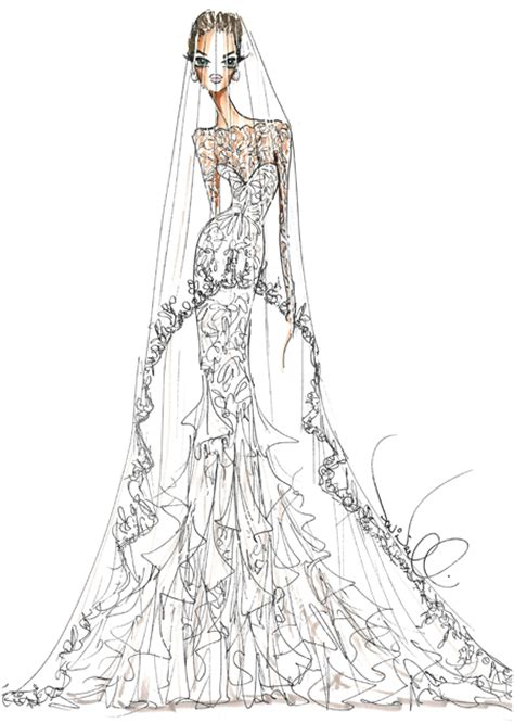 serendipitist angelina jolies fantasy wedding gown