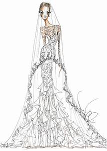 the serendipitist angelina jolie39s fantasy wedding gown With wedding dress sketches