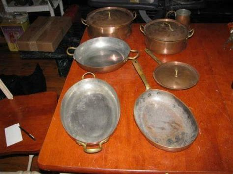 tagus copper cookware ebay