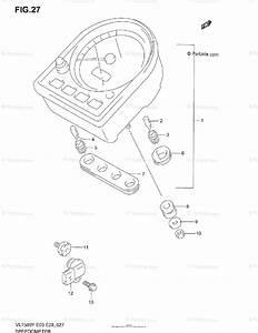 Suzuki Motorcycle 1999 Oem Parts Diagram For Speedometer