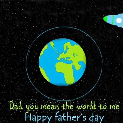 Mean Happy Dad Father Card Events Greetings