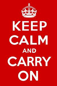 File:Keep Calm and Carry On Poster.svg - Wikimedia Commons  Keep