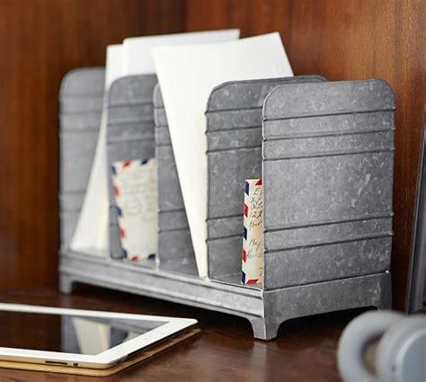 pottery barn desk accessories galvanized desk accessories pottery barn