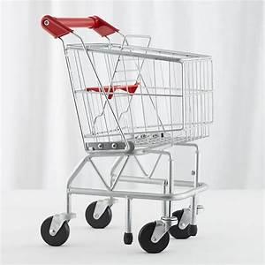 Kids Play Metal Shopping Cart | The Land of Nod
