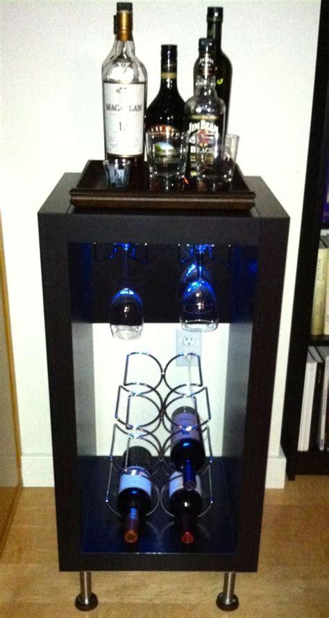 wine liquor bar ikea hackers ikea hackers