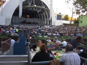 Hollywood Bowl Garden Box Seats