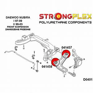 Front Suspension Bushes Kit For Daewoo Nubira
