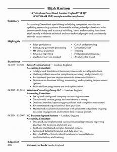 consultant resume examples finance resume samples With professional resume consultant