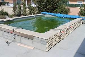 Piscine Semi Enterrée Rectangulaire : piscine bois semi enterr e leroy merlin piscine bois ~ Zukunftsfamilie.com Idées de Décoration