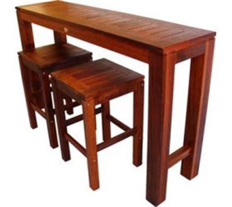 small outdoor pub table outdoor furniture long narrow kwila timber bar setting