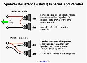 How To Wire A 4 Channel Amp To 4 Speakers And A Sub  A