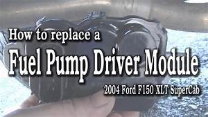 How To Replace A Ford F150 Fuel Pump Driver Module